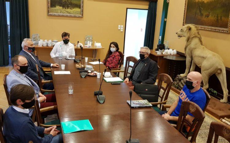 Spotkanie łowczego krajowego z przedstawicielami PZSS