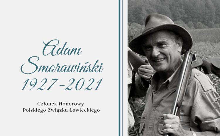Do Krainy Wiecznych Łowów odszedł Kolega Adam Smorawiński