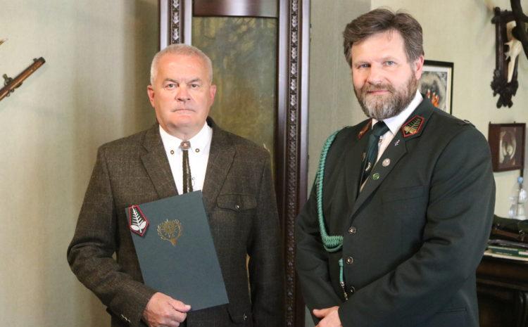 Akt powołania łowczego okręgowego w Opolu
