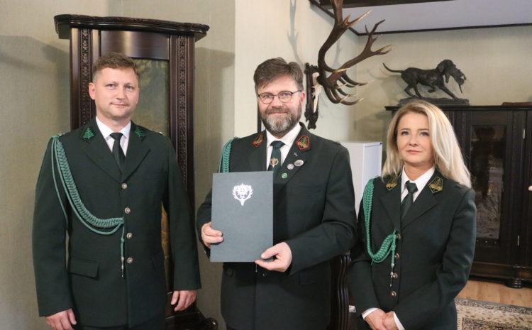 Nowy członek Zarządu Głównego Polskiego Związku Łowieckiego